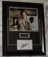 AAA  CLINT EASTWOOD SIGNED CARD MATTED WITH 10x8 PHOTO AUTHENTIC ITEM DIRTY HARRY